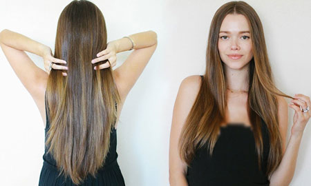 healthy beautiful thick hairs