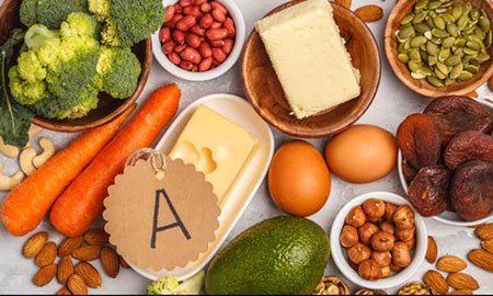 vitamin A need for hair growth